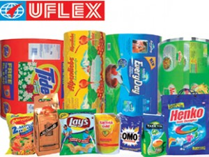 Indian flexible packaging company, Uflex ltd. consolidated total revenue of Rs. 1535 crore and net profit Rs. 78 crore for Q2 financial year 2015-16.