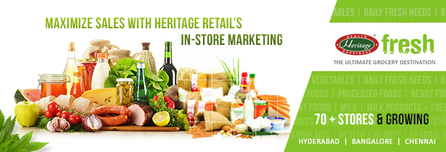 "Heritage Fresh bags the ""IMAGES Most Admired Food & Grocery Retailer of the Year"" title"