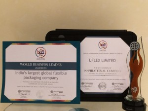 "Mr. Ashok Chaturvedi, Chairman and Managing Director, Uflex Limited said, ""This award by World Confederation of Businesses is a testament to Uflex's meticulous approach in ensuring product and operational excellence."