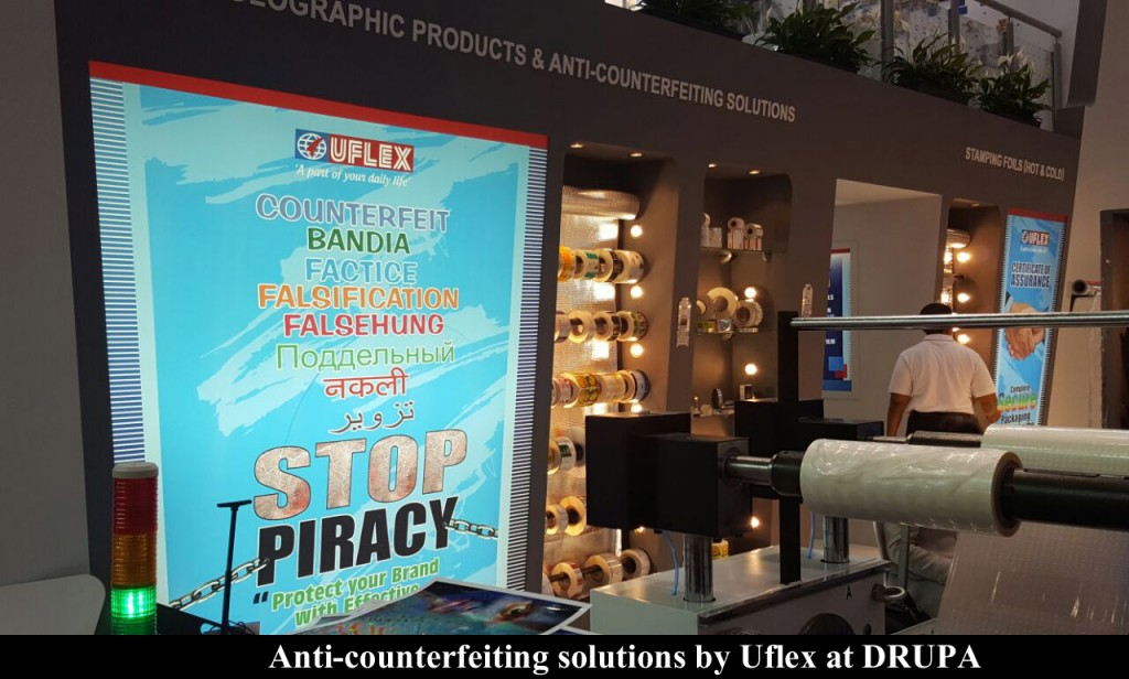 Uflex ltd, a globally acknowledged and accredited flexible packaging solution company is already stealing the limelight at DRUPA 2016.