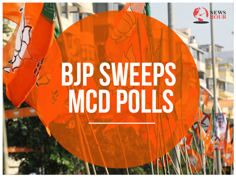 MCD poll results, MCD elections 2017