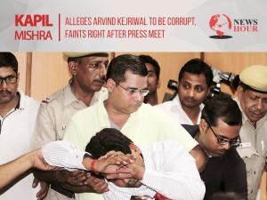 Kapil Mishra alleges Arvind Kejriwal