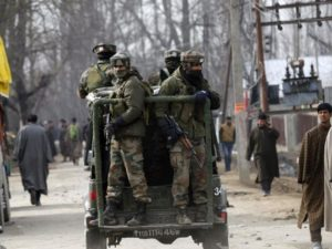 encounters across South Kashmir