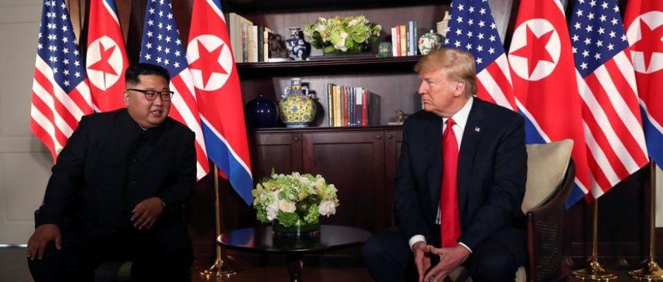 Donald Trump meets Kim Jong Un