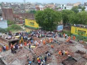 building collapses in Ghaziabad