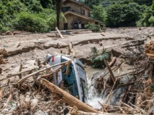 japan flood update