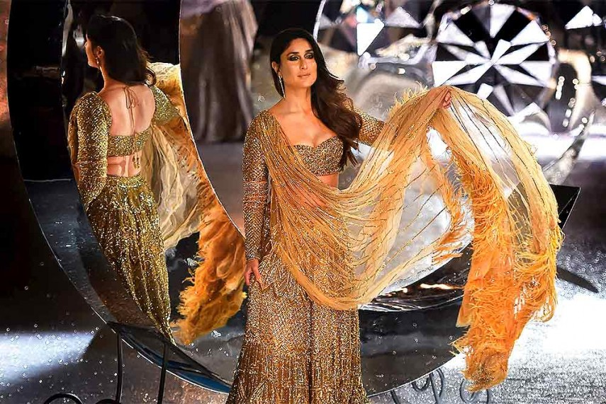 kareena kapoor Indian Couture Week 2018