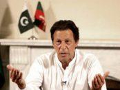 Pakistani politician Imran Khan