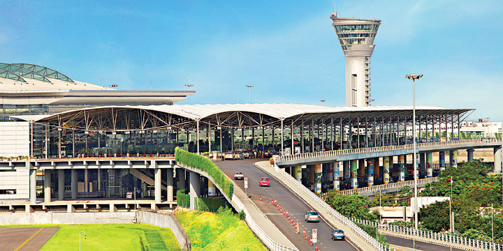 hyderabad airoport, GMR Infrastructure