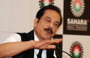 Sahara India founder , Subrata Roy Sahara